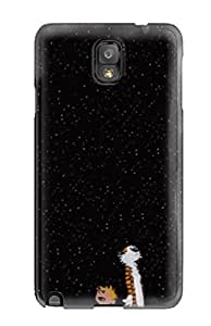 Galaxy Durable Protection Case Cover For Galaxy Note 3 Excellent Calvin And Hobbes Night Sky