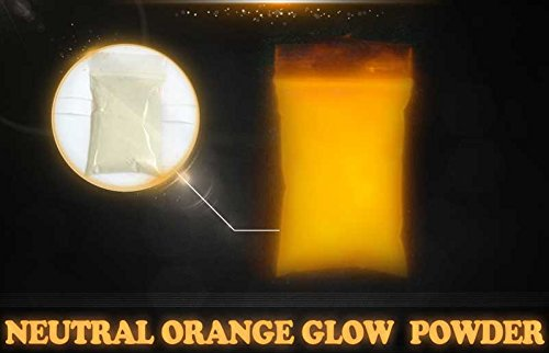 Orange Super Phos Glow Powder by Glonation