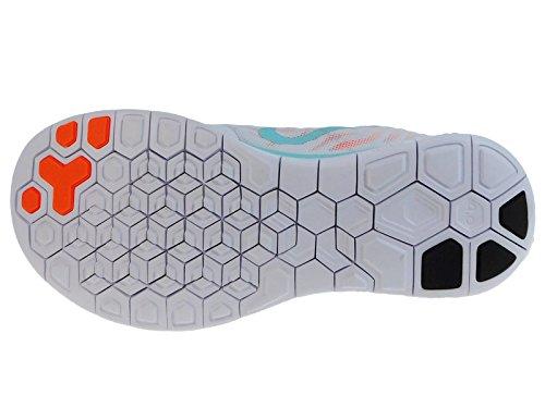Nike Vrouwen Gratis 4.0 Nylon Loopschoenen Wit / Copa / Hyper Oranje