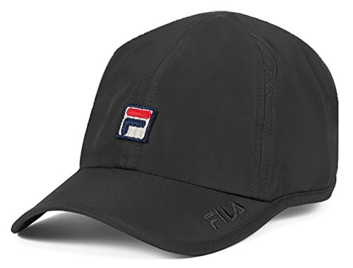 fila-unisex-performance-solid-runner-hat-black