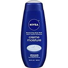 NIVEA Creme Moisture Moisturizing Body Wash 16.9 Fluid Ounce (Pack of 3)