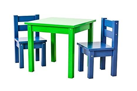Sedie Blu Cucina : Hoppe bambini disegno bambini mads tavolo verde sedie blu