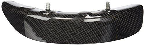 Rear Sprocket Cover - Bestem CBDU-HPMTD-SPCR Black Carbon Fiber Rear Sprocket Cover for Ducati Hypermotard 796/1100/1100S