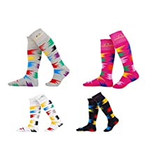 Marsnow Knee High Performance Ski Sock Family Pack the Parent-child Attire