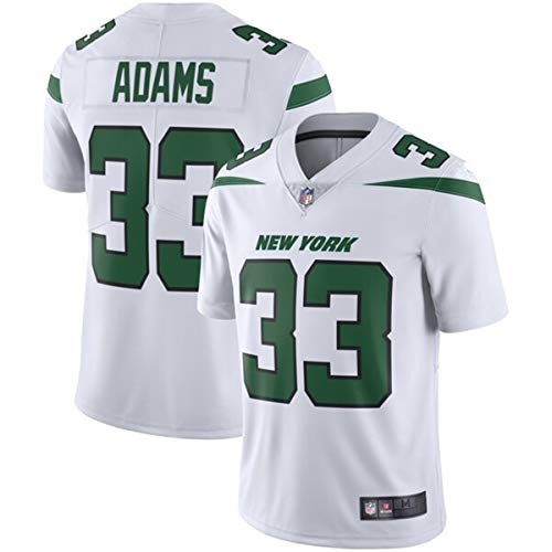 (Men's #33 Jamal Adams New York Jets Game Jersey White )
