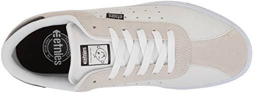 etnies The Scam - Zapatillas de Skateboarding Para Hombre Blanco 44.5, Color Blanco, Talla 47 EU (13 UK)