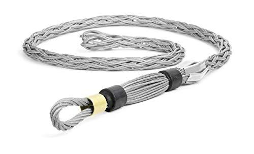 Woodhead 36610 Pulling Grip, High Strength, Flexible Eye, Black Color, 6500lb Approximate Break Strength, .219