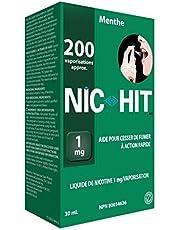 Quit Smoking Aid Nicotine Spray Nic-Hit Mint Flavor 1mg - 200 Sprays