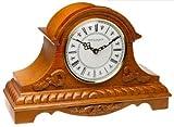 New London Stafford Oak Tambour Style Clock
