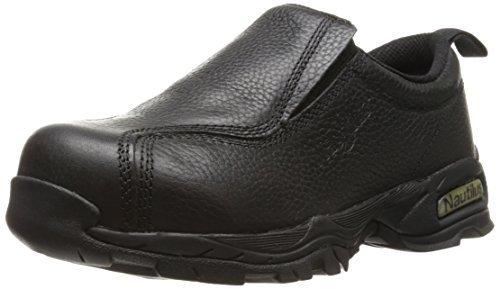 Nautilus 1631 Women's ESD No Exposed Metal Safety Toe Slip-On,Black,8.5 W US