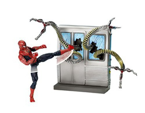 SpiderMan 2 Movie Action Figure Spin Kick SpiderMan