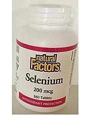 Natural Factors Selenium 200 mcg 360 Tablets