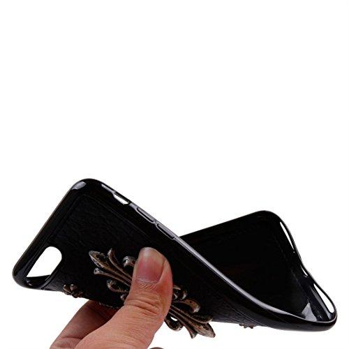Protege tu iPhone, Para el iPhone 7 más patrón del estilo del remache TPU + Metal la caja protectora suave de la contraportada Para el teléfono celular de Iphone. ( SKU : Ip7p1211x ) Ip7p1211h