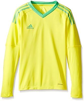 6c0a7002aea Amazon.com   adidas Youth Soccer Revigo 17 Goalkeeper Jersey