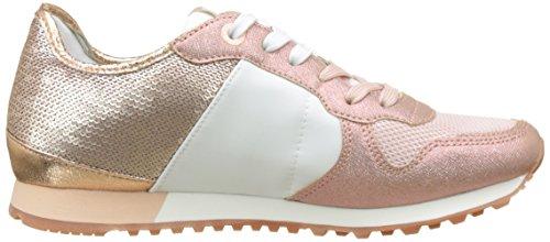 Pepe Jeans Damen Verona Paillettes W Scarpa Da Tennis Rosa (fabbrica Di Colore Rosa)