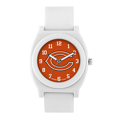 (NFL Chicago Bears Mens Fan Series Wrist Watch, White, One Size)