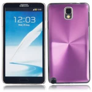 CD Pattern Plastic Protective Case for Samsung Note3 Purple