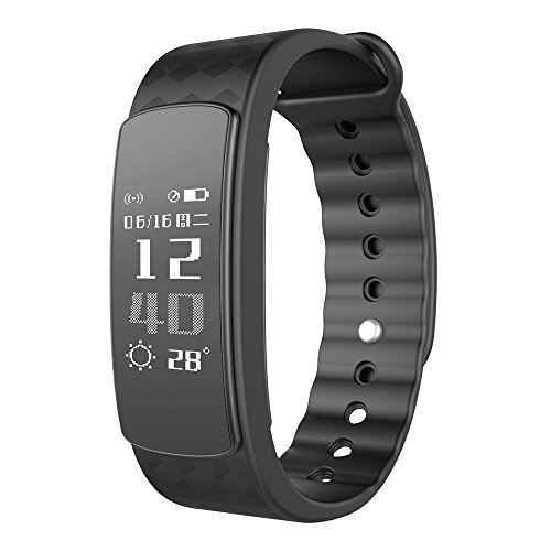 Fitness Tracker Watch with Heart Rate Monitor Activity Fitness Band Step Walking Sleep Counter Pedometer IP67 Water Resistance / Bluetooth 4.0 for iPhone Android Smartphone