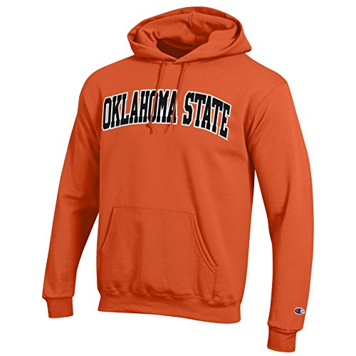 Champion NCAA Oklahoma State Cowboys Men's Eco Power Blend Hooded Sweat Shirt, Large, ()
