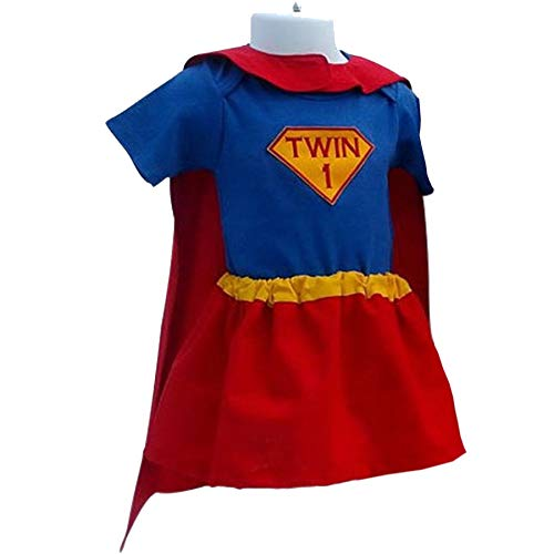 Perfect Pairz Halloween Costume - Super Twins - Boy and Girl Costumes