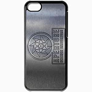 Personalized iPhone 5C Cell phone Case/Cover Skin Asi Metal Black