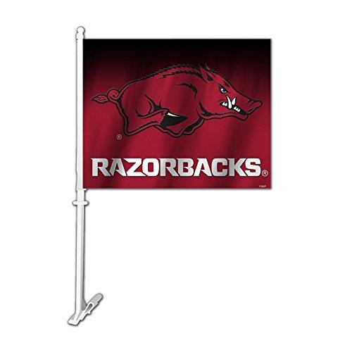 Fremont Die NCAA Arkansas Razorbacks Car Flag, 11