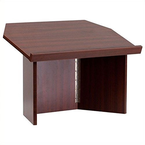 Scranton & Co Foldable Tabletop Lectern in Mahogany by Scranton & Co