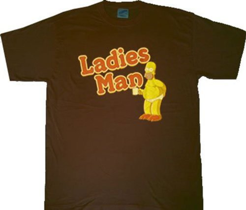 Simpsons Homer Ladies Man Men's T-Shirt