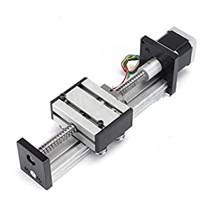 FISTERS Ball Screw Linear CNC Slide Stroke 100mm Travel Length Stage Actuator Stepper Motor from FISTERS