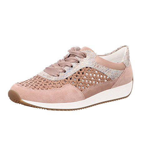 mujer G Lissabon Weite Ara 34020 Puder 12 Taupe Sneaker Nude qRwHtUxwp