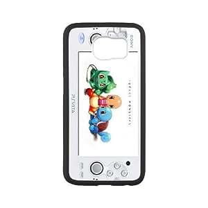 Samsung Galaxy S6 White phone case Pocket Monsters Pikachu Charmander JHQ4424662
