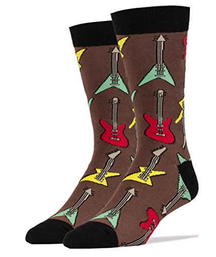 Oooh Yeah! Men's Cotton Crew Sock (It's Electric!, Sock Size 10-13 Shoe Size 8-13) from ooohyeah