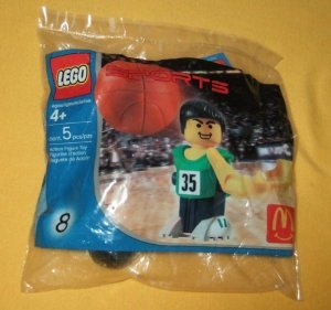 MCDONALDS HAPPY MEAL: 8 block toys ( Lego ) SPORTS # LEGO ( parallel imports )