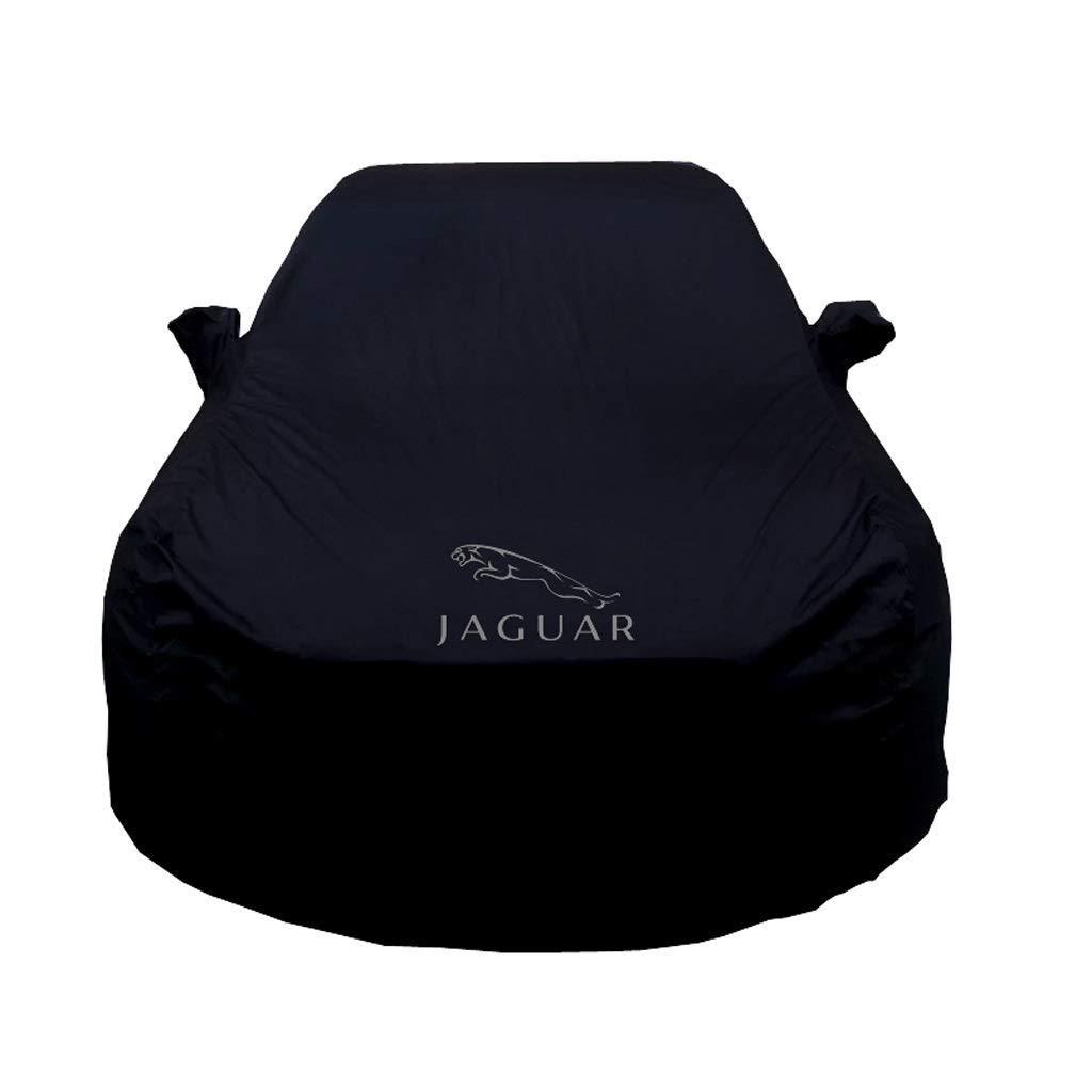 Yxsd Telo copriauto Adatto per Jaguar XJL Clothing Xfl XF XE F-Pace Tipo F Xel F-Pace Nero Tessuto Oxford