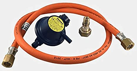 Mediamarket - Kit de Manguera y regulador de Gas para ...
