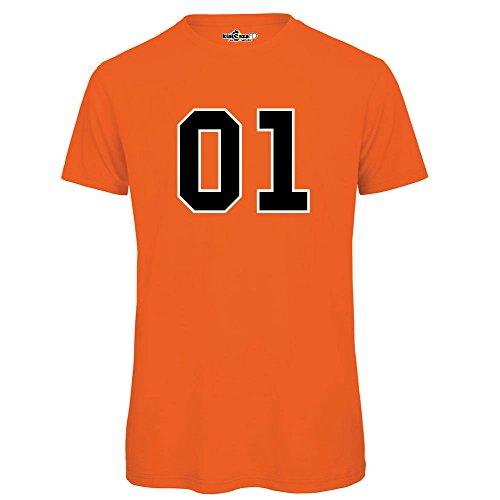 Vintage T Ora shirt Tv Orange Hazzard Lee Kiarenzafd Serie General Maglietta Generale Dukes The Ann Of SqRZRx7