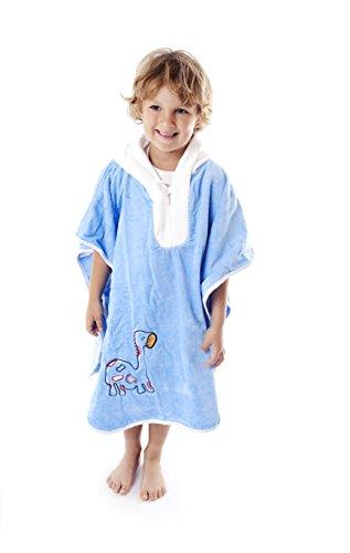 h Poncho Towel Dinosaur ()
