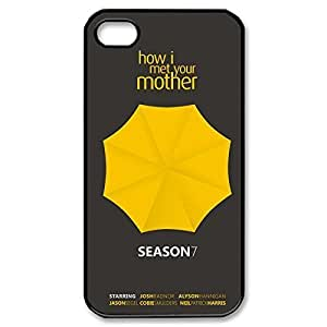 Fashionable How I Met Your Mother Design Sublimation Printed Personalized Case Cover for iPhone 4/iPhone 4s _Black 30709