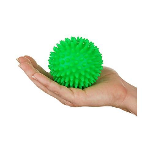 Dersoning Déclencheur de massage sensitif à la balle Spiky 7 cm (vert)