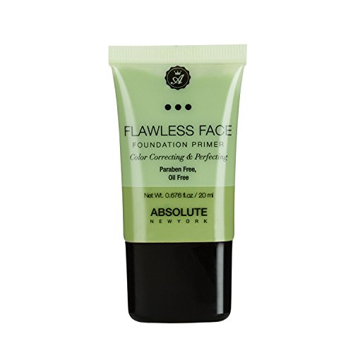Absolute Flawless Face Foundation Primer (Green) (Face Primer Flawless)