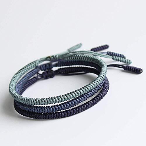 TALE Lucky Rope Bracelet Tibetan Buddhist Handmade Knots - Best Friends