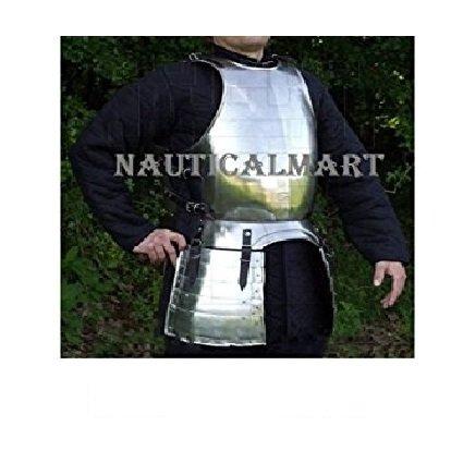 中世LARP 15世紀Armor胸とバックプレートNAUTICALMART