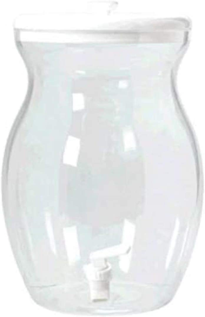 amscan Clear Beverage Dispenser with Lid & Spigot