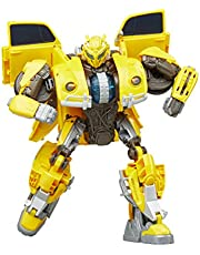 Transformers Toys Buzzworthy Bumblebee Transformers: Bumblebee Movie Power Charge Bumblebee Action Figure, Ages 6 and Up, 10.5-inch