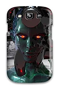 Anti-scratch And Shatterproof Cyborg Phone Case For Galaxy S3/ High Quality Tpu Case