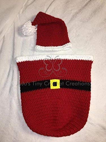 0edb93da24fe Baby Newborn Infant Santa Claus Outfit Christmas Gift First Christmas  Baby's First Christmas Christmas Photo Prop Unisex Halloween Costume Photo  Prop Baby ...