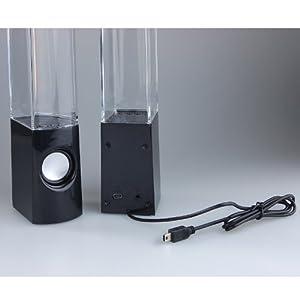Eastvita® Plug and Play Muti-colored Illuminated Dancing Water Speakers