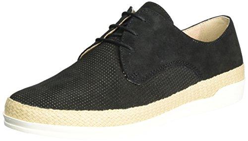 Caprice Footwear Women's 23503 Trainers, Grey, 7 Black (Black Suede)