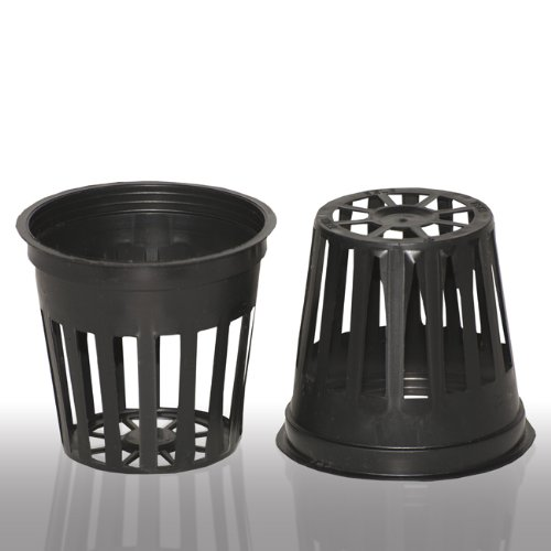100 2 Inch Net Slit Pots for Hydroponic Aeroponic Use by Teku