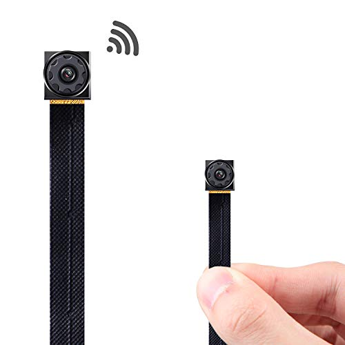 RZATU Mini Hidden Camera WiFi - Small Spy Cameras Wireless - Tiny Nanny Cam HD 1080P - Covert Home Monitoring - Security Surveillance Cams with Cell Phone App